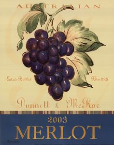 Merlot Canvas Art - Pamela Gladding x Merlot Wine, Posters Vintage, Creation Photo, Retro Images, Wine Art, Kitchen Wall Art, Vintage Ephemera, Custom Framing, Photo Art