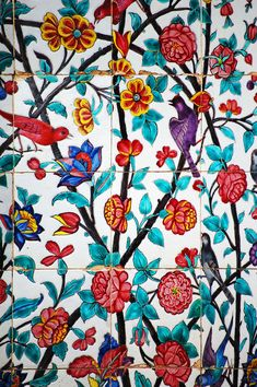 Iran Shiraz DSC_0799   The floral tiles are reminiscent of t…   Flickr