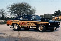 Don Carlton (my cousin) had the best looking and - more importantly - fastest car on the Pro Stock NHRA circuit in the 1970s.