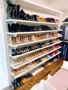 My Closet + Organization Tips