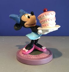 "Vintage 1996 WDCC ""For My Sweety"" The Little Whirlwind Minnie Mouse Porcelain Figurine in box COA by KitschyCollection on Etsy https://www.etsy.com/listing/482657709/vintage-1996-wdcc-for-my-sweety-the"