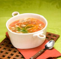 Mushroom Barley Soup | Healthy Recipes By Food Category: Soups and ...