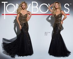 Tony Bowls Style TB117110 - View the Tony Bowls Collection now and contact a retailer near you to order the perfect designer dress for your social occasion!
