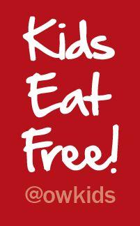 Where Do Kids Eat Free?