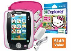 LeapPad2 Power Hello Kitty Bundle for Kimmy