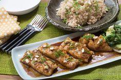 Honey-Garlic Cod with Sautéed Bok Choy & Coconut Rice. Visit www.blueapron.com/ to receive the ingredients.
