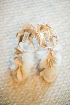 wedding shoes #wedding #shoes #bride #weddingshoes #brideshoes #flowers #ruffle #cute #white #notmine #piperstudios