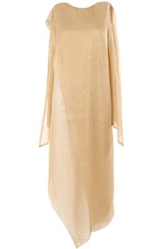 Copper lame jersey kurta available only at Pernia's Pop-Up Shop.