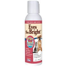 Ark Naturals Eyes So Bright for Dogs and Cats, 4-Ounce Bottle ** See this great image  : Cat Supplies