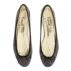 India Black Snakeskin Effect Leather (PT276)|French Sole