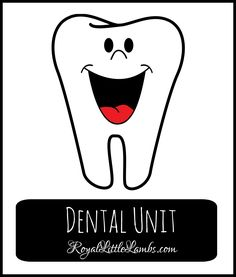 Dental Unit - some really fun science, crafts, games, and activities to learn about dental health| http://royallittlelambs.com/