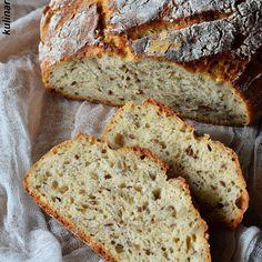 Bread Recipes, Cake Recipes, Cooking Recipes, Healthy Recipes, Bread Rolls, Kefir, Bread Baking, Bon Appetit, Good Food