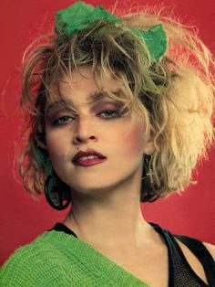 Madonna : On The Cover Of A Magazine OTCOAM rare madonna photos: 1984 Photographed by Helmut Werb