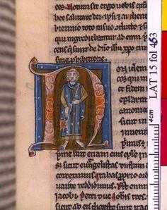 1225-50 Latin 15, fol. 463, Saint Jacques le Mineur