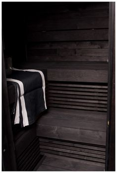 Sauna. really really want one Spa Rooms, Sauna Room, Old Barns, Weathered Wood, Cattle, Baths, Toilet, Track, Furniture