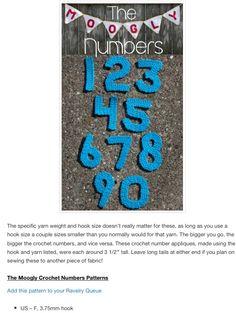 0-9 Crochet Numbers, A Hook, Kids Rugs, Kid Friendly Rugs, Nursery Rugs