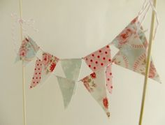 Colourful Cake Bunting