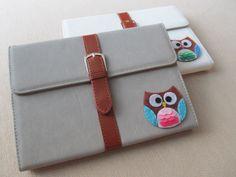 Cute Owl iPad mini 2 ,  iPad mini Cover, Ipad mini stand, iPad mini Case Gray by TheLittleTreeHouse on Etsy