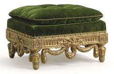 A LATE LOUIS XV GILTWOOD TABOURET | CIRCA 1770, POSSIBLY NORTH EUROPEAN | stool, Furniture & Lighting | Christie's