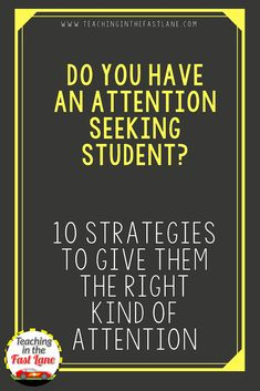 Classroom behavior management - Giving Attention Seeking Students the Right Kind of Attention – Classroom behavior management Behavior Management Strategies, Classroom Behavior Management, Class Management, Music Therapy Activities, Learning Activities, Behavior Plans, Behavior Charts, Classroom Community, School Classroom