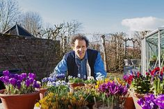 Monty shows you how to get the most out of your potted plants.