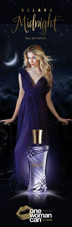 Discover NEW Belara Midnight™ Eau de Parfum from Mary Kay. Let the Moment Unfold.™ Indulge your sensual side with this alluring new scent. Drawing on what makes every woman intriguingly magnetic and soulful, the NEW Belara Midnight™ fragrance is an intoxicating expression of feminine allure.  www.marykay.com/annemariemartin