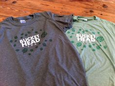 New Bucket Head IPA t-shirts Kong printed for Thirsty Planet Brewery, available today at the 2nd birthday bash!