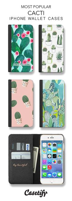 Wallet Long Pin: Most Popular Cacti iPhone Wallet Cases here > https://www.casetify.com/collections/iphone-wallet-cases#/