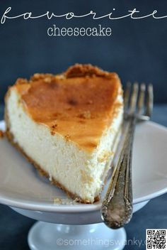 3. #Favorite Cheesecake - Grab Your #Fork! 26 Must-Try #Cheesecake Recipes ... → Food #Triple