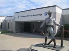 While visiting Albany, we should take the kids to the New York State Police Academy, where Daddy graduated in 2008!!