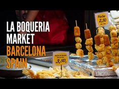 Foodie Heaven - La Boqueria, Barcelona - Meat and Seafood Sections