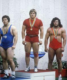 1980-as olimpia Moszkva Súlyemelés Leonid Taranenko Valentin Khristov György Szalai