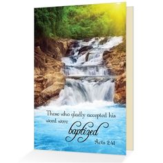 108 best scriptural greeting cards images on pinterest cards baptism congratulations acts 241 scriptural greeting card m4hsunfo