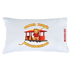 Dream big when you rest on the Daniel Tiger's Neighborhood pillowcase.