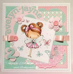 Bespoke card handmade by Little Megs Cards