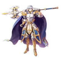 Male Royal Guard New Costume Official Illustration