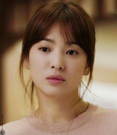Song Hye Kyo Hair, Song Hye Kyo Style, Korean Beauty, Asian Beauty, Fringe Haircut, Hair Extensions Best, 2015 Hairstyles, Wedding Hair Down, Super Hair