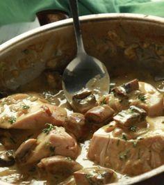 Κοτόπουλο σοτέ με μουστάρδα και μανιτάρια | Γιάννης Λουκάκος