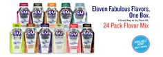GU has helped me through 2 marathons and MANY rowing practices
