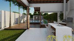 Área de Lazer Residencial Arquiteta: Natacha Klare