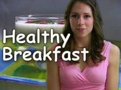 Healthy Breakfast Food Recipes - Nutrition by Natalie    Natalie tell you five different healthy breakfast items and how to cook or make them. A good breakfast is key to your health and wellness.     Items include, Smoothie, Breakfast Taco, Yogurt Parfait, Oatmeal or an English Muffin with Egg ...
