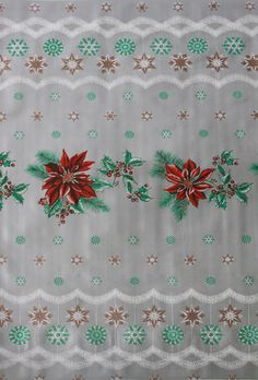 Oilcloth By The Yard   Holiday