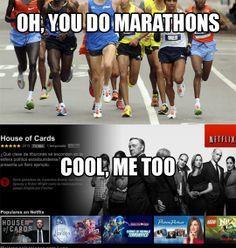 funny marathon poster?