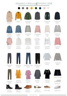 ✅ ARMARIO CAPSULA | Que es y como tener uno | LasCosas de Mari Capsule Wardrobe, Girl Fashion, Fashion Outfits, Womens Fashion, Toddler Girl Style, Aesthetic Clothes, Clothing Patterns, Style Guides, Ideias Fashion