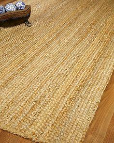 """Sevilla"" Jute Area Rug Carpet 100 Natural Hand Woven Reversible 8' x 10' | eBay"
