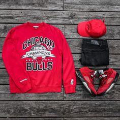[[AC]] WEBSTA @ rancell_ - Running w/ the Bulls #OutfitGrid @outfitgrid