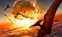 We think that the impact of a large comet or asteroid was a significant factor in the extinction of dinosaurs. But to be honest, there are lots of other hypotheses. Welcome to science.