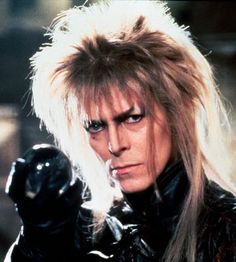 David Bowie の写真 — from the movie Labrynth