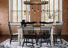 Get dining room decorating ideas from Ethan Allen designers! See how they put traditional and modern dining room sets together.