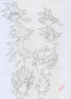 GOKU'S ANATOMY by REROHAN on deviantART